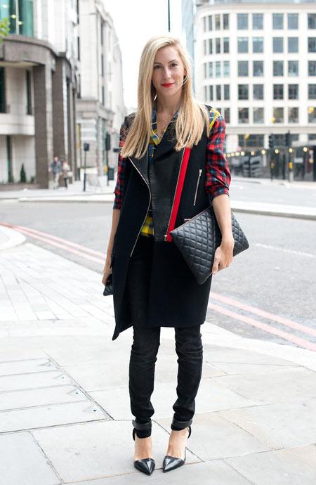 Phong cách váy áo thời thượng trên đường phố London