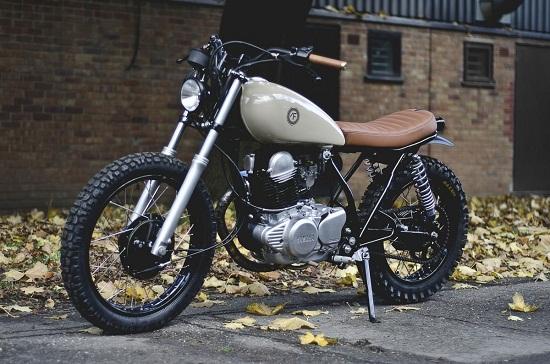 Yamaha SR250 Cafe Racer đơn giản mà tinh tế