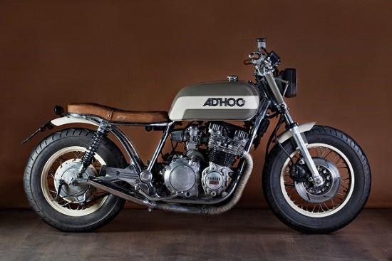 Yamaha XJ650 độ cafe racer với phong cách hoài cổ