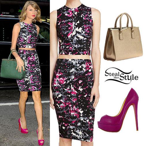 Thời trang giá rẻ nhưng vạn người mê của Taylor Swift cá tính