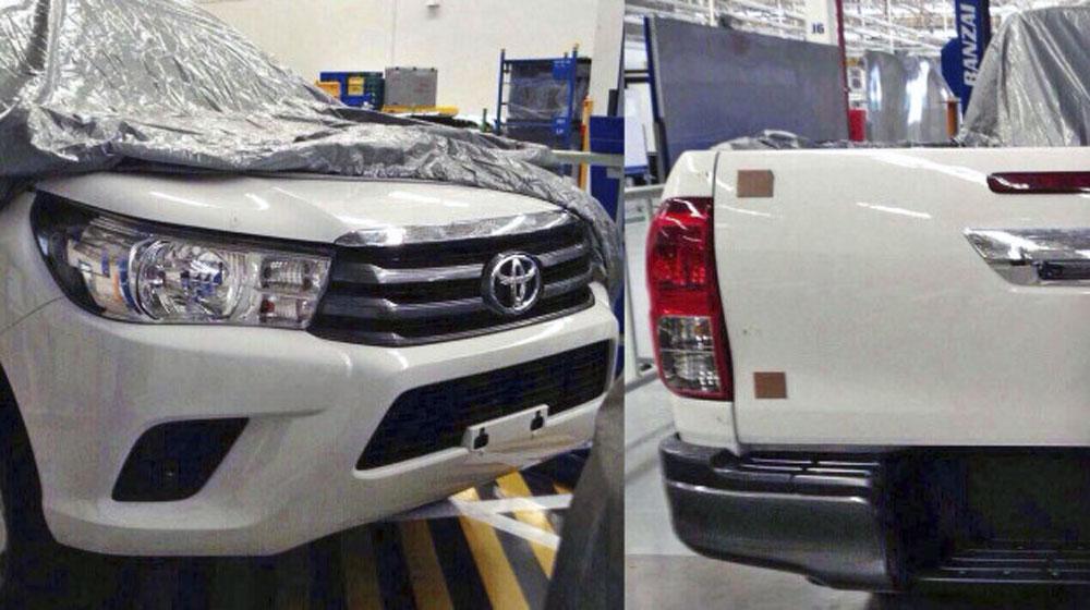 Toyota Hilux 2015 sắp ra mắt