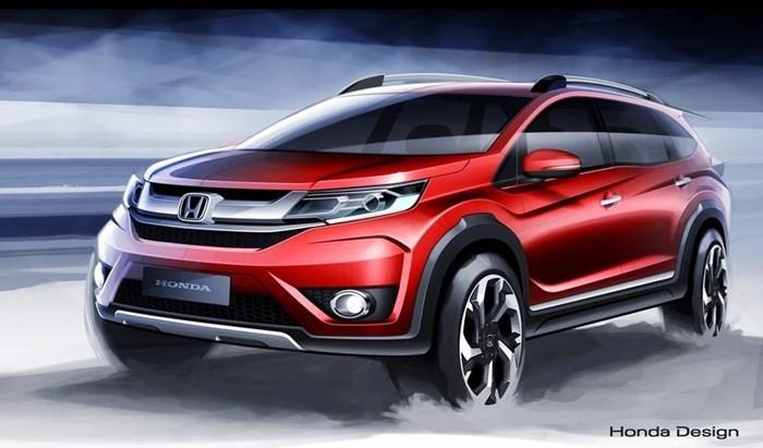 Honda hé mở hình ảnh nội thất BR-V hoàn toàn mới