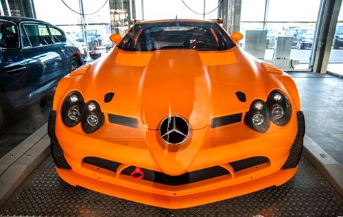 Ô tô Mercedes SLR McLaren 722 GT - Siêu xe hàng hiếm