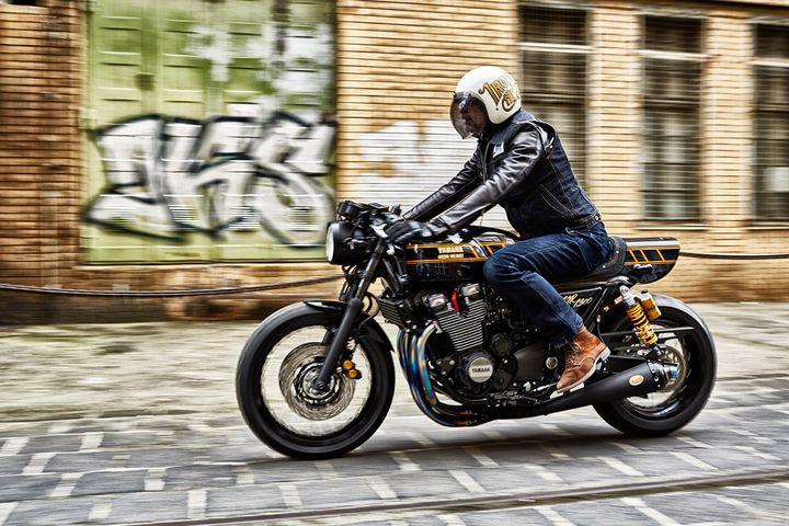 Yamaha XJR1300 siêu ngầu với phiên bản Cafe Racer – Iron Heart