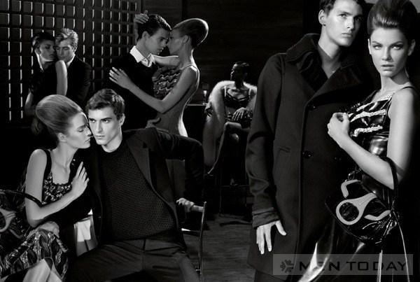 Phối hợp trang phục màu đen cho nam giới