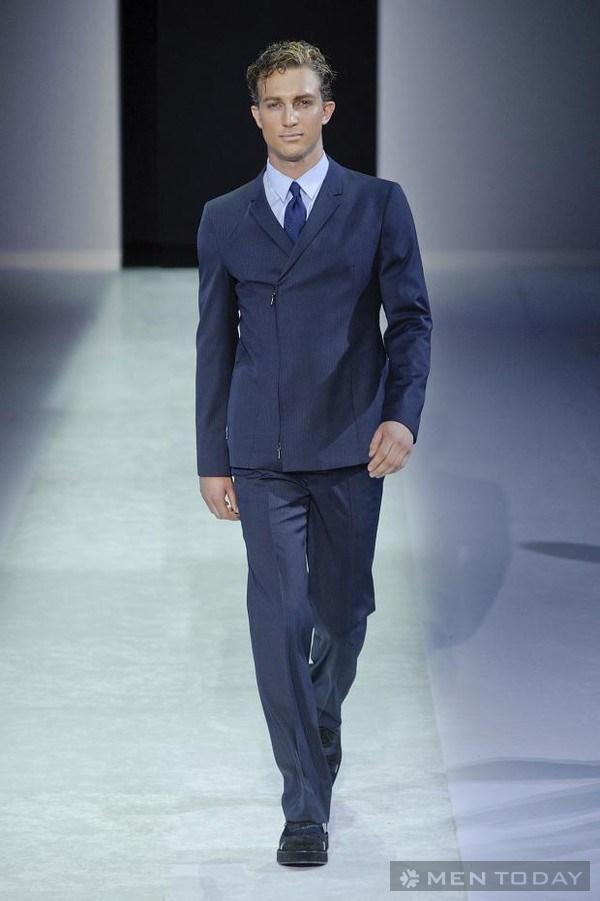"""Phong cách thời trang thương hiệu lớn """"tề tựu"""" trên sàn diễn Milan"""