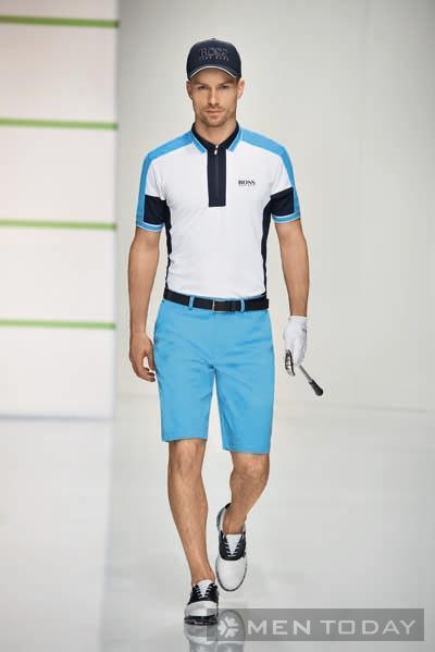 Trang phục thể thao của Hugo Green đầy cá tính