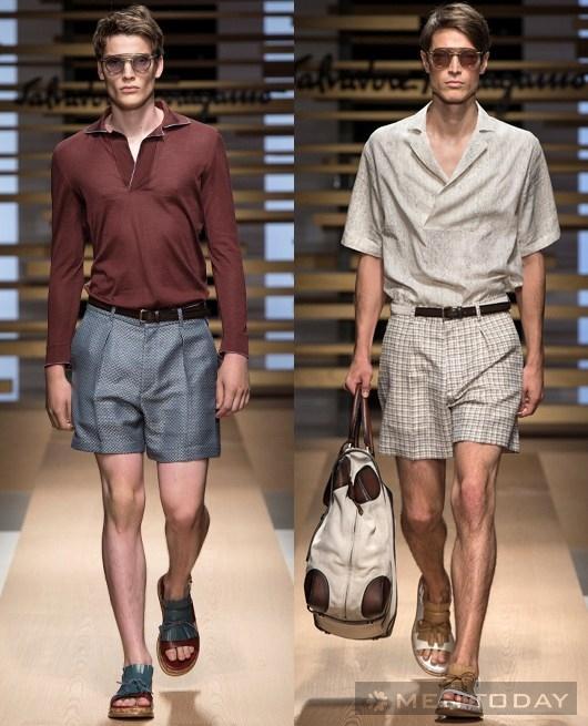 BST thời trang của Salvatore Ferragamo mạnh mẽ