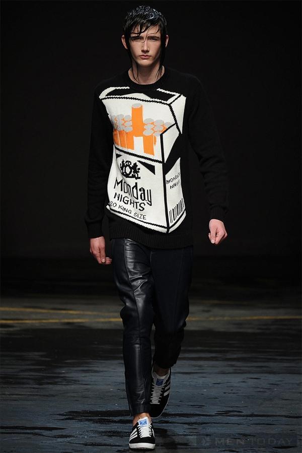 BST thời trang nam của Christopher Shannon | LCM mạnh mẽ