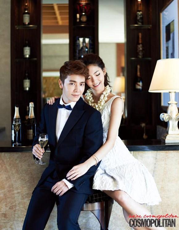 Diễn viên Donghae lịch lãm trên tạp chí Cosmopolitan thanh lịch