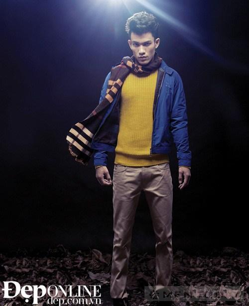 Mix phối quần áo nam thu đông: Ấm áp và đầy phong cách
