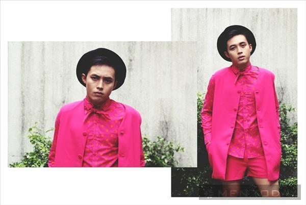 Phong cách cho chàng nổi bật với sắc màu neon