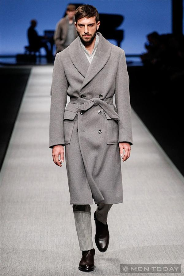 Phong cách thời trang nam của Canali | MFW mạnh mẽ
