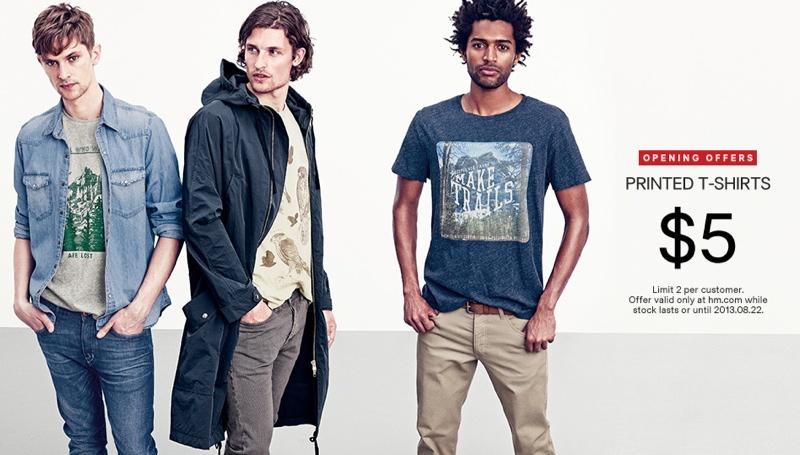 Phong cách thời trang nam thu đông từ H&M cao cấp