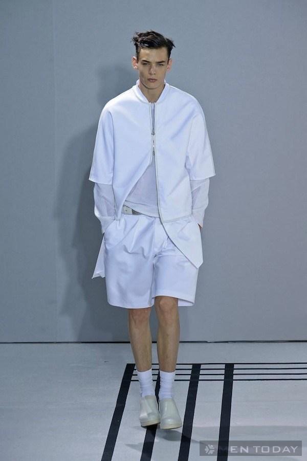 Phong cách thời trang nam Xuân Hè mẫu Áo khoác cho men