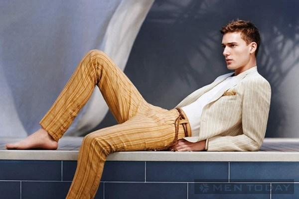 Phong cách thời trang nam xuân hè từ Topman và Canali thanh lịch