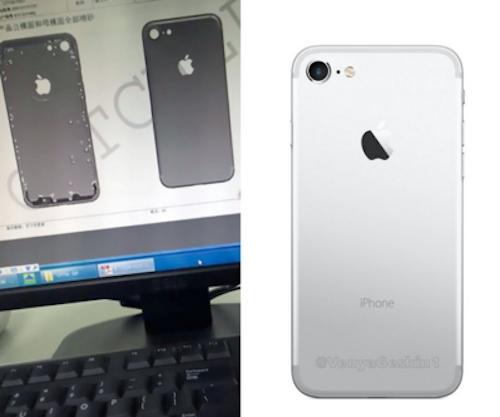 Bản dựng iPhone 7 dựa trên ảnh rò rỉ trên mạng