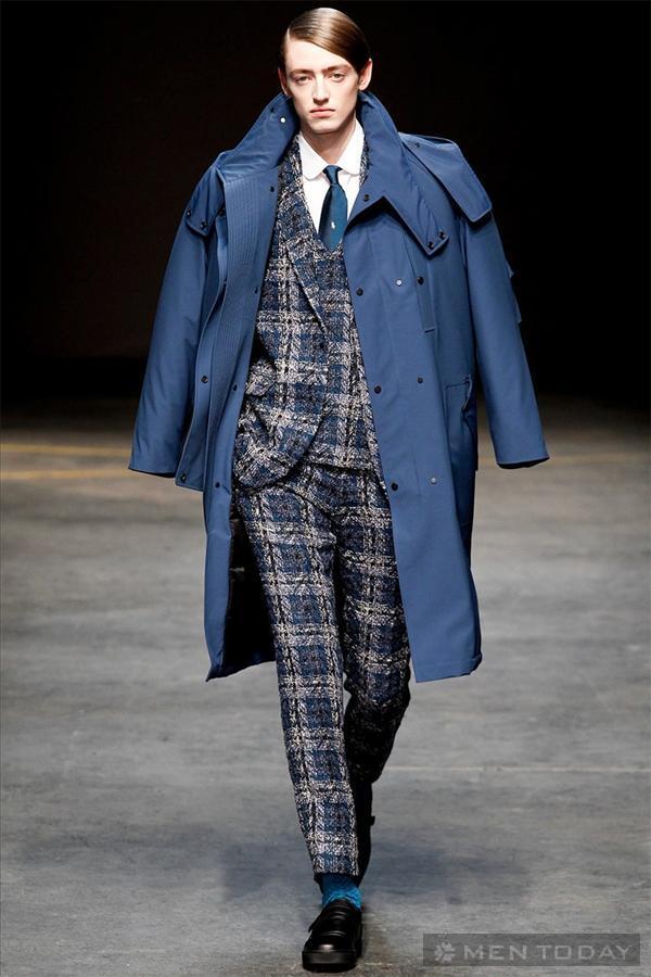BST thời trang nam thu đông từ E. Tautz | LCM