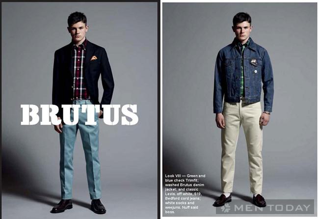 Mẫu thời trang nam thu đông cá tính từ Brutus