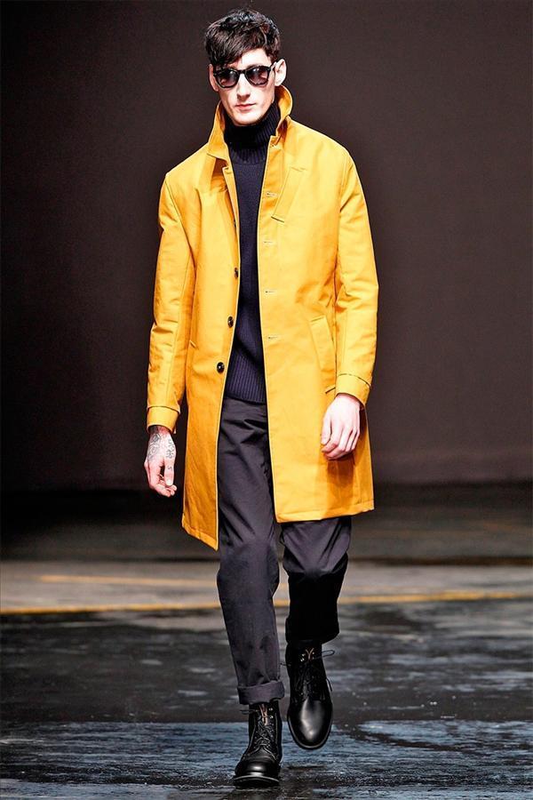 Mẫu thời trang nam thu đông của Oliver Spencer | LCM