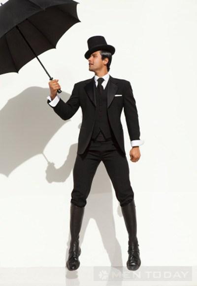 Những trang phục nam không nên mặc vào mùa mưa