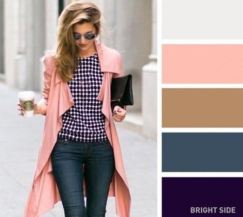 Phối màu trang phục cực chuẩn cho phong cách thời thượng