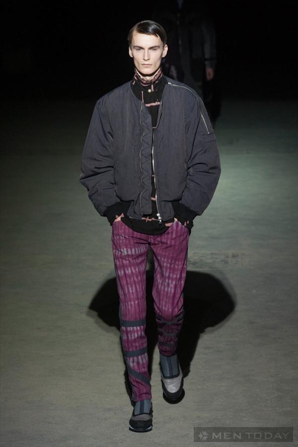 Phong cách cá tính của Dries Van Noten   PFW