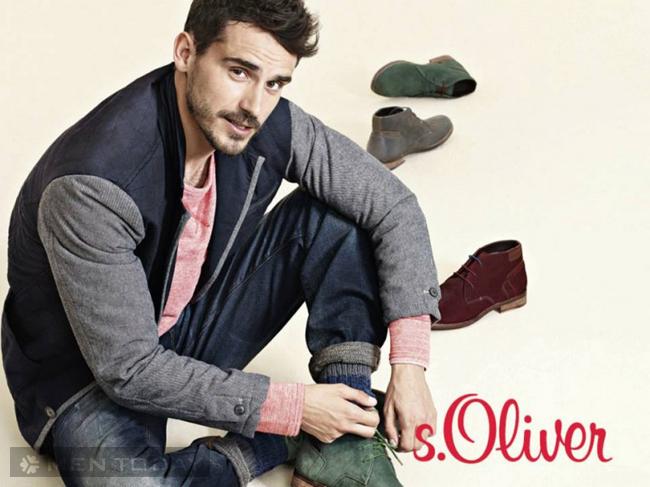 Phong cách thời trang nam thu đông của S.Oliver độc đáo