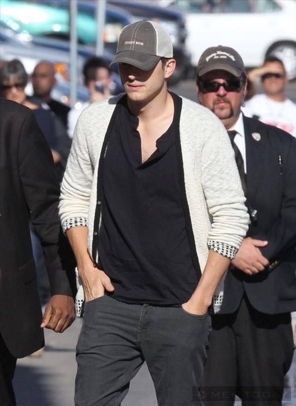 Phong cách thời trang sao nam Hollywood cao cấp