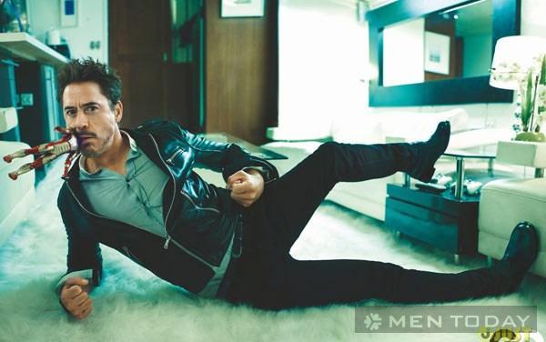 Robert Downey Jr 'Iron Man' quý ông lịch lãm mê giày sneaker