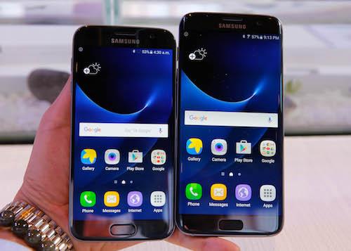 Samsung Galaxy S7 được trang bị cảm biến độ ẩm