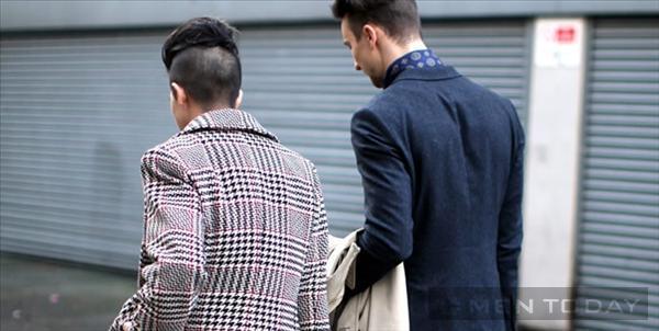 Street style từ Tuần lễ thời trang Nam London cá tính