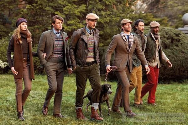 Thời trang nam mùa đông Polo Ralph Lauren phong cách