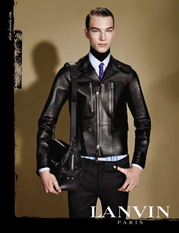 Thời trang nam thu đông từ Lanvin