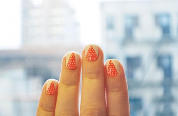 12 Kiểu móng tay chấm bi mới lạ nổi bật cho ngày hè năng động
