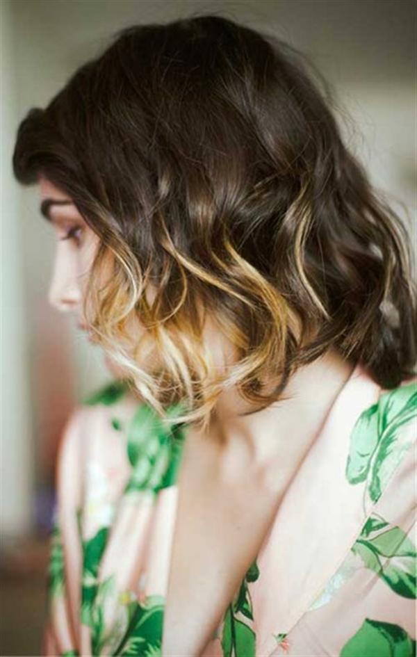 15 kiểu tóc nhuộm ombre cho cô nàng tóc ngắn quyến rũ