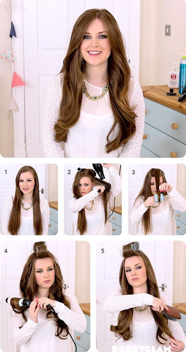 3 cách sấy tóc cho mái tóc dày và bồng bềnh lâu mà không làm hư tổn tóc