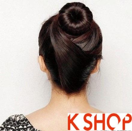 3 Kiểu tóc búi Hàn Quốc dễ làm cho bạn gái năng động