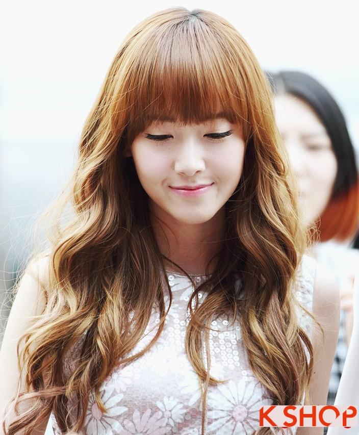 33 Kiểu tóc uốn xoăn sóng nhỏ Hàn Quốc cho nàng quyến rũ cá tính