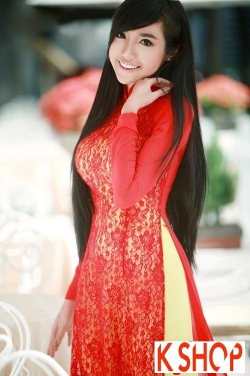 4 Kiểu tóc dài kết hợp áo dài truyền thống Việt Nam