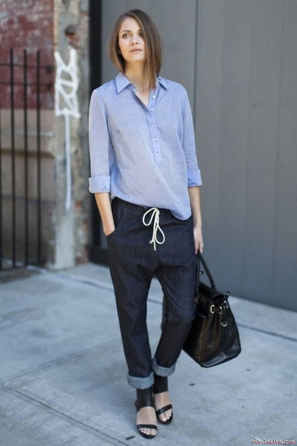 5 kiểu áo công sở phong cách trẻ trung mát dịu hè cho bạn gái
