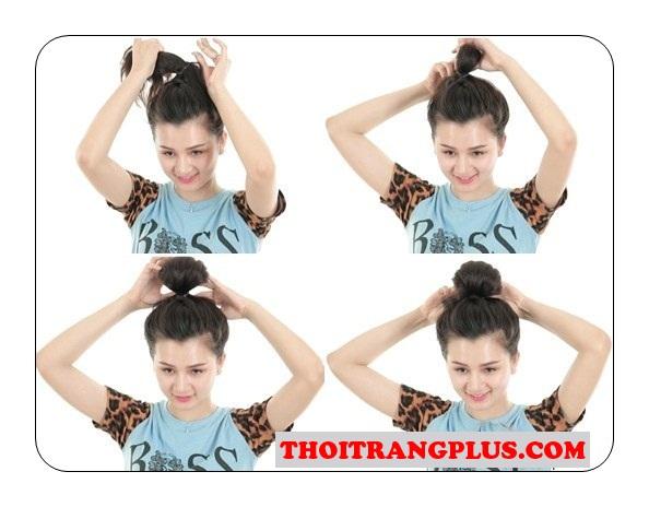 5 Kiểu tóc búi hàn quốc cho nàng năng động thoải mái tự tin