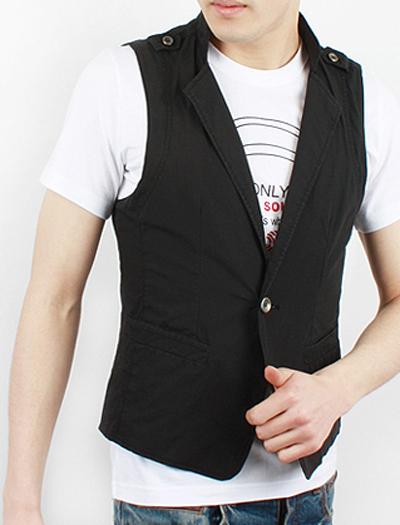Áo khoác gile nam thời trang thu đông cho chàng phong cách