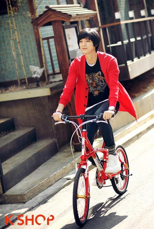 Áo khoác len cardigan nam Hàn Quốc đẹp ấm áp không lạnh