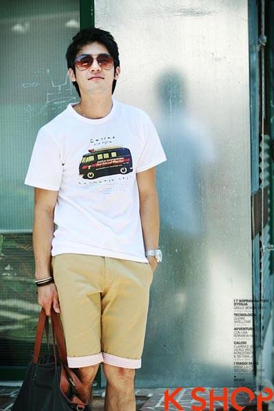 Áo thun nam đẹp xì kul phong cách Hàn Quốc cho teenboy