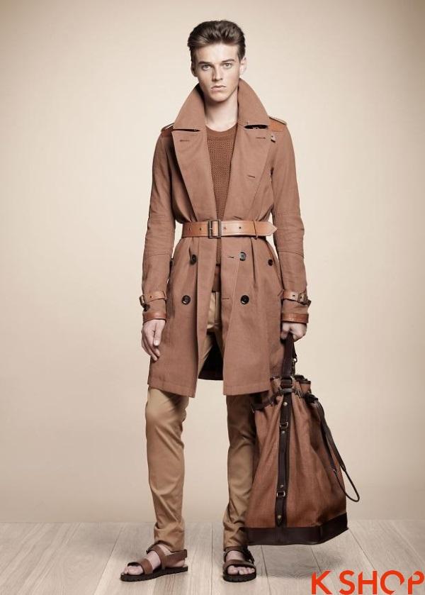 BST áo khoác dạ măng tô nam đẹp đông không lạnh