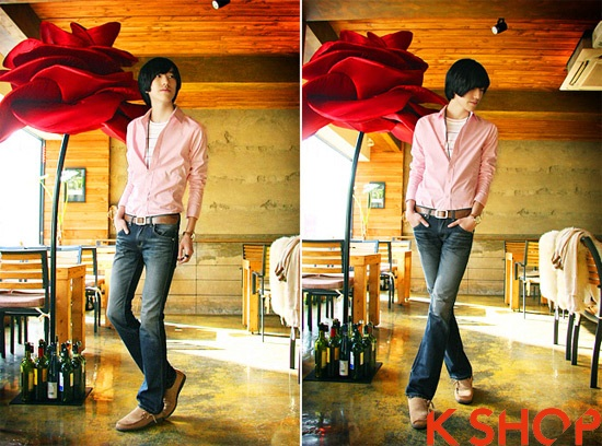 BST áo sơ mi nam Hàn Quốc đẹp cho chàng cá tính thời trang