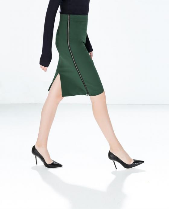 BST chân váy xẻ tà được thiết kế trẻ trung cho nàng thêm quyến rũ