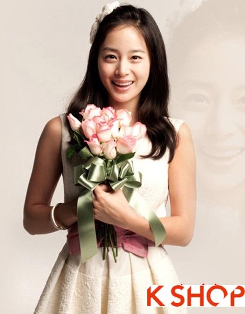 BST tóc tết cô dâu đơn giản phong cách Hàn Quốc mạnh mẽ