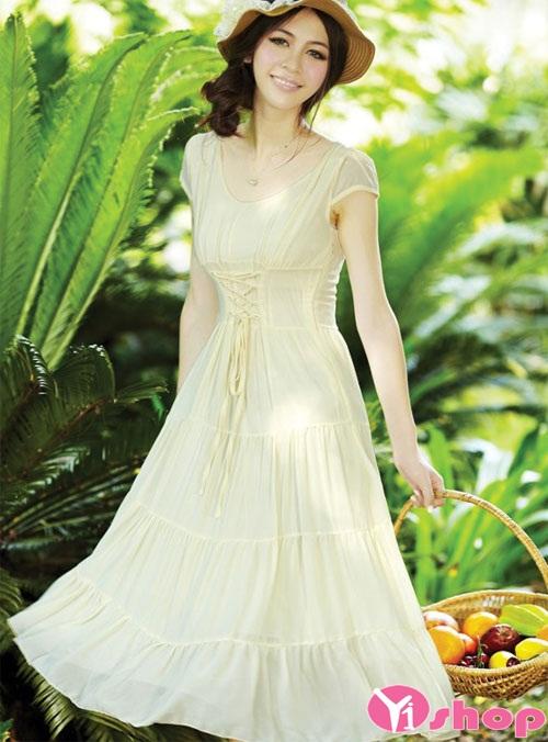 BST váy đầm maxi dáng dài đẹp lãng mạn ngọt ngào